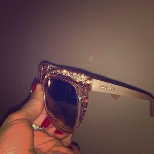 Jimmy choo crystal glasses